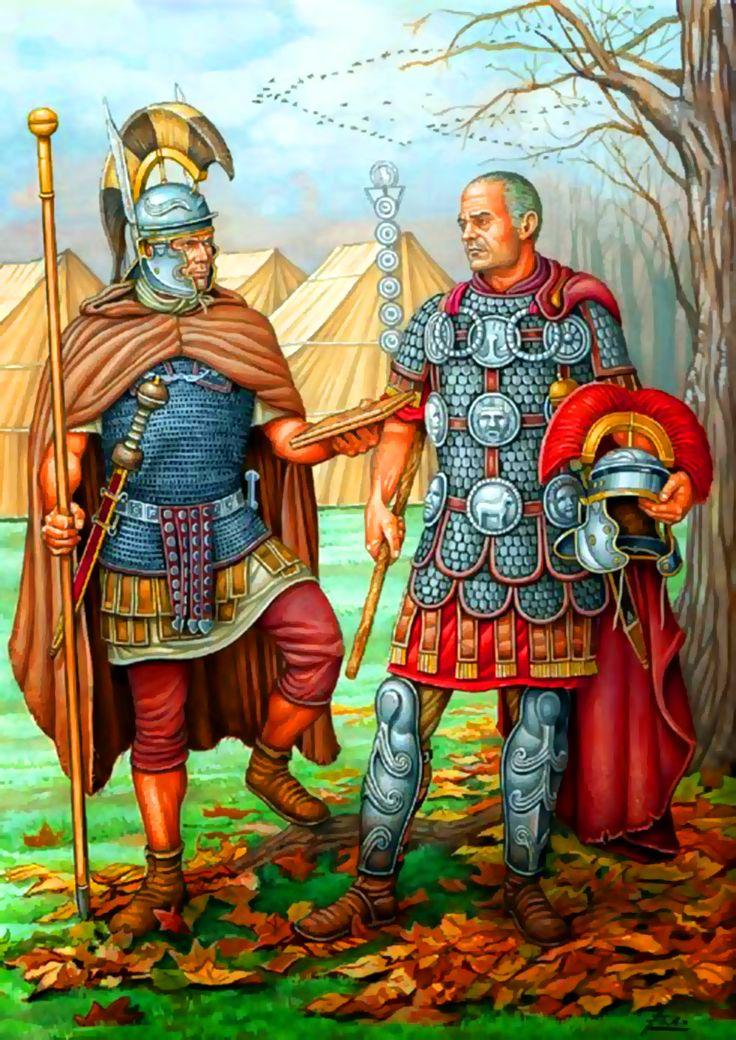 Roman centurions