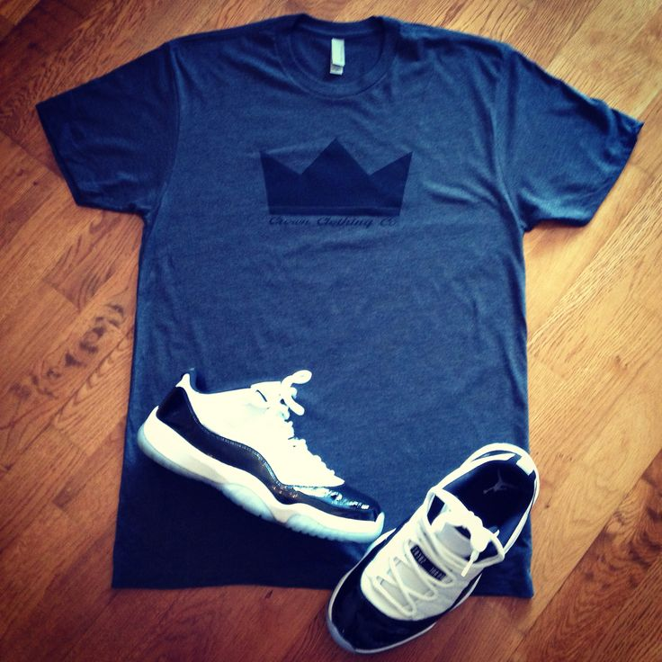 Sunday Funday outfit Crown Athletics with Concord 11s Low
