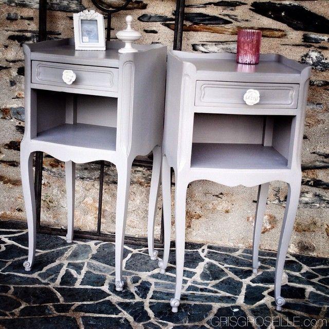 Paire De Chevets Gris De Style Xv Www Grisgroseille Com Deco Decoration Decorations Patine Home Maison Meuble Chambre Interior In 2020 Furniture Decor Home
