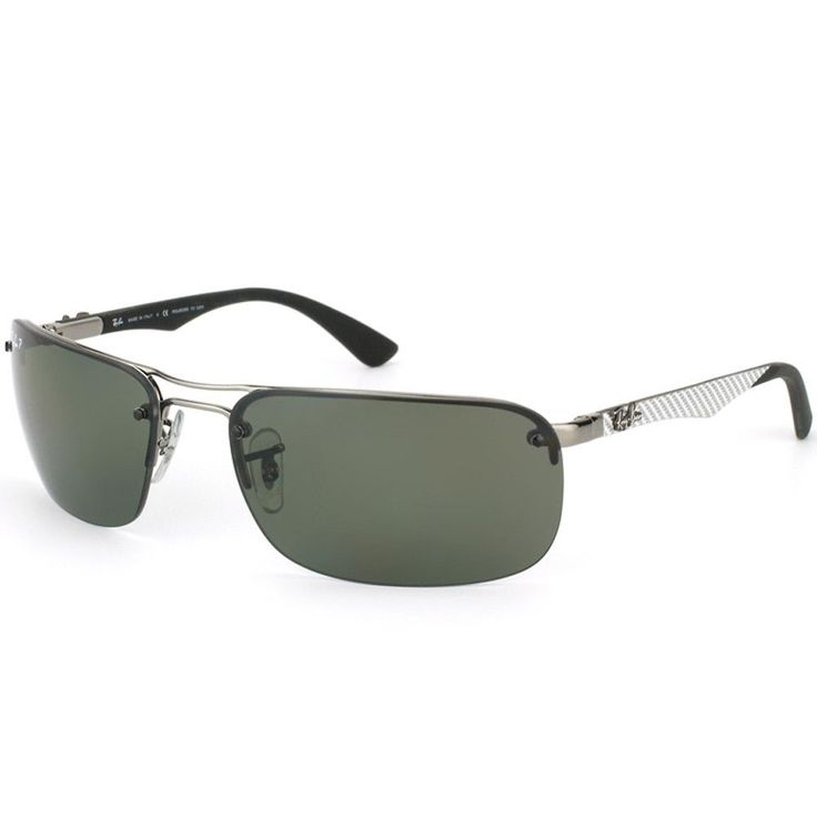 ray ban rb 8310 004 9a 63 mens tech carbon fibre gunmetal frame polarized