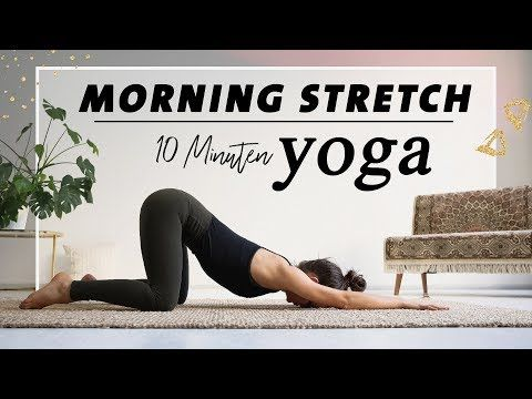 Yoga Morgenroutine für Anfänger | Den ganzen Kö…