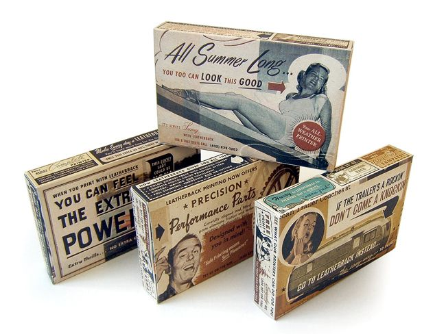 Leatherback Printer Candy Boxes on Packaging of the World - Creative Package Design Gallery