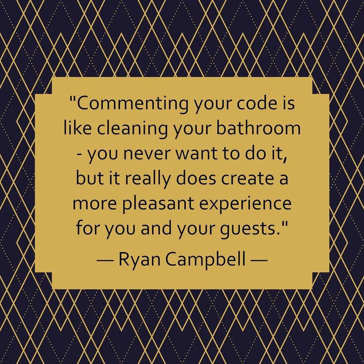 web development quote of the day commenting your code is like cleaning your bathroom