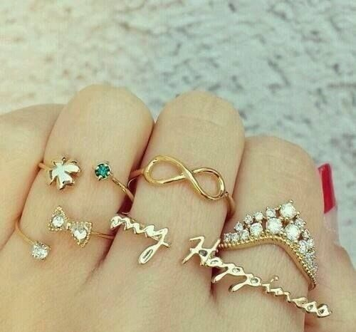 out pinterest and girly any looks check to stack the of more best images perfect beautiful rings jewelry spring addition look on
