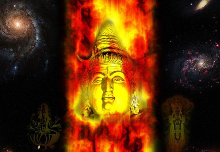 Shiv means Well-being. Shiv means Energy. Shiv means infinite. Shiv is column of light, fire. Hence Shivling is Column of Fire. Shiv is Niraakar. Shiv is eternal. Shiv is Parabrahm. It is the source of existence of everything that one sees, feels. Entire universe is in Shiv. It is the only source of all Gods. The divine trinity has emerged from Shiv. It denotes 3 atributes i.e. of tripund i.e. Satva Guna (Brahma the Creator), Satva+Rajo Guna (Vishnu the preserver) and Satva+Rajo+Tamas Guna…