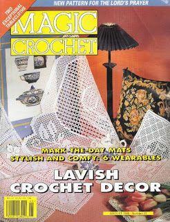 ... Crochet No. 97; August 1995 Crochet: Magic Crochet Magazine