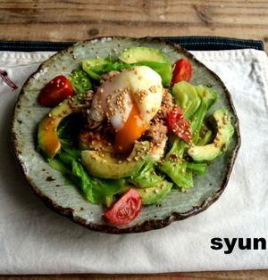【簡単!!カフェサラダ】春キャベツと豆腐ステーキとツナのおかずサラダ