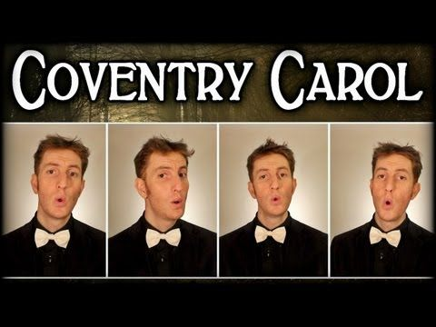 Coventry Carol / Lully Lullay - One Man Barbershop Quartet - Julien Neel - YouTube