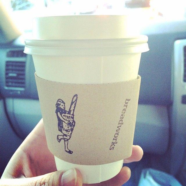 カップがかわいいコーヒースタンド