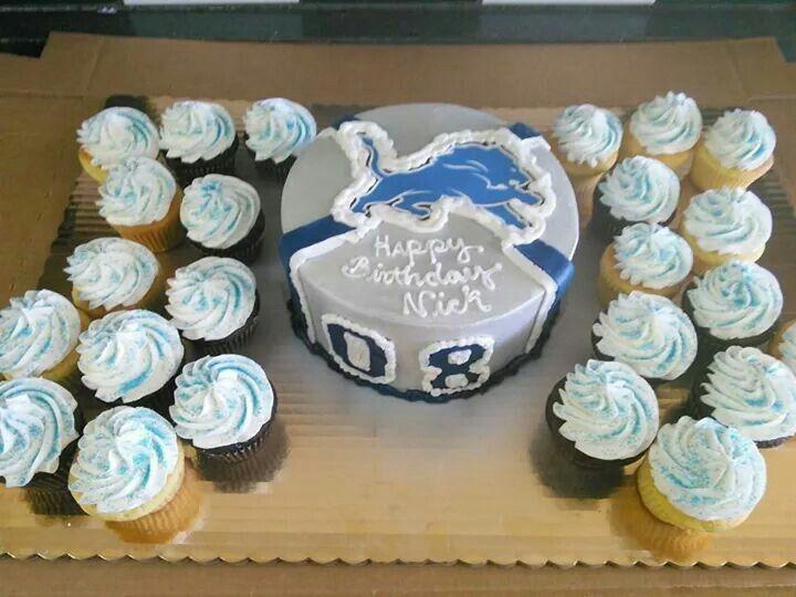 Detroit Lions cake - Sorella's Homemade Baked Goods, Livonia, MI