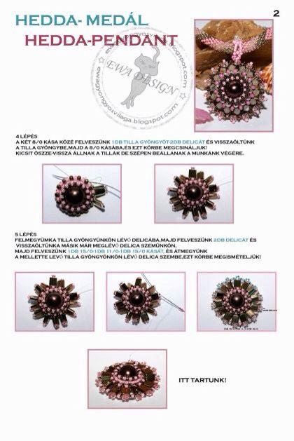 Hedda pendant pattern 2