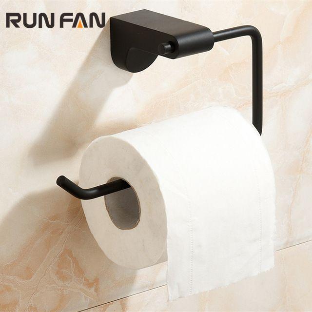 Новый Arraval из нержавеющей стали черный спрей живописи рулон туалетной бумаги аксессуары для ванной комнаты туалет держатель