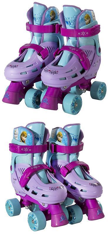 Youth 71156: Playwheels Disney Frozen Kids Classic Quad Roller Skates - Size 1-4 New -> BUY IT NOW ONLY: $40.85 on eBay!