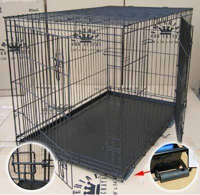 "30"" Medium Imperial Folding Dog Crate (D802)"