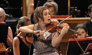 Leila Josefowicz plays the UK premiere of Francesconi's violin concerto Duende with the BBC Symphony Orchestra at Prom 13.