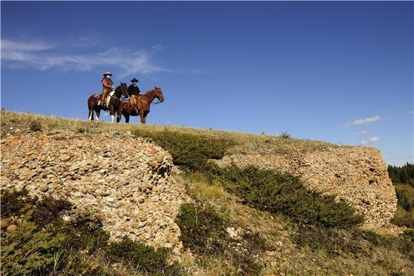 Experience an authentic western Canadian working ranch, Historic Reesor Ranch.