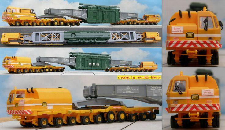 """Scheuerle LS 250 """"Heuler"""" Schwerlastselbstfahrer mit Generator (Kibri 10128)"""
