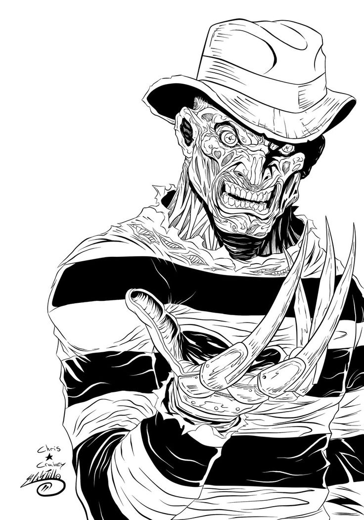 Freddy Kruger Ink by SWAVE18 on