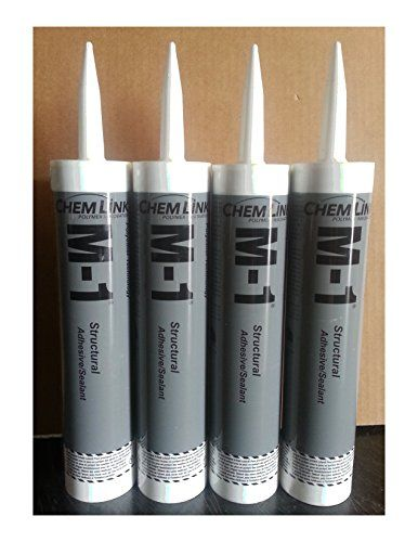 RT Chemlink M1 Structural Adhesive 4Pack Wcolor Options Roofing Adhesive for Commercial Roofing and Residential Roofing Sealing Adhesive for Emergency Roof Repair and Penetrations Sealing Pipe Cable and Penetrations of Roofing Screws on Metal -- Want additional info? Click on the image.