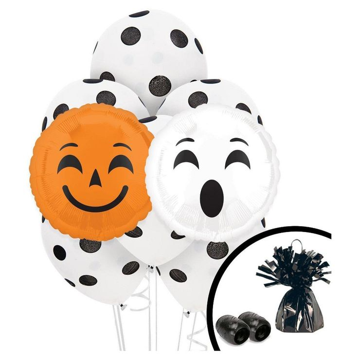 Halloween Emoji Balloon Bouquet,