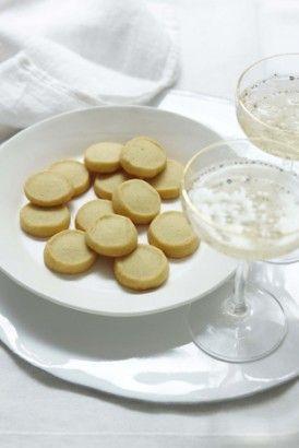 PARMESAN SHORTBREADS | Recipes | Nigella Lawson