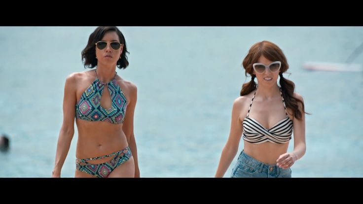 Forever21 Strappy Diamond Print Bikini Bottoms as seen on Tatiana in Mike and Dave Need Wedding Dates   TheTake