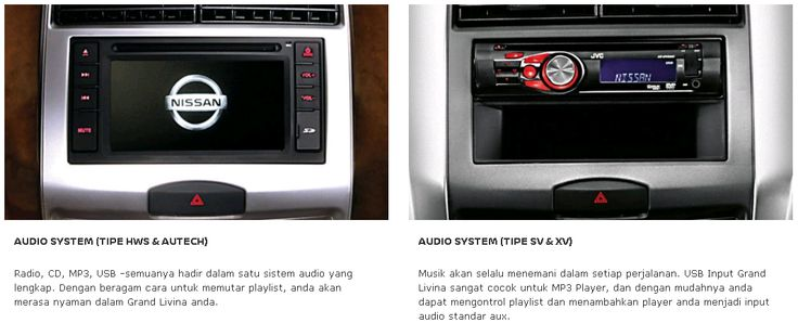 Audio System Grand Livina dari Nissan, Mobil Terbaik Pilihan Keluarga Indonesia