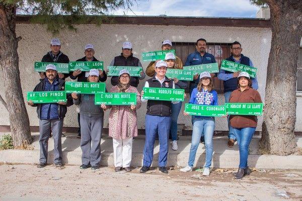 Atiende Gobierno Municipal recomendación de señalizar calles en Los Pinos para una ciudad más segura para las mujeres   El Puntero
