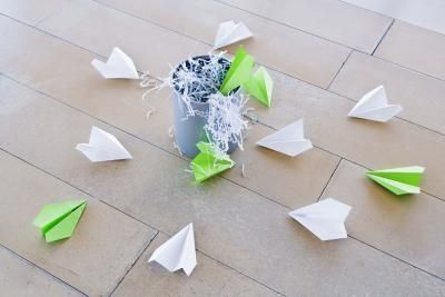 Another simple paper-airplane game