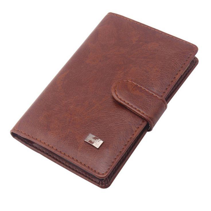 KUDIAN BEAR Passport Holder Men Travel Wallet Credit Card Holder Passport Cover Russian Covers For Document --HBIH009 PM20