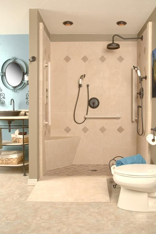 28 best Bathroom: handicapped images on Pinterest | Bathroom ideas ...