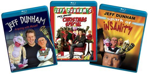 Jeff Dunham  (Arguing with Myself/Spark of Insanity/Very Special Christmas Special) (Amazon.com Exclusive) [Blu-ray]  http://www.videoonlinestore.com/jeff-dunham-arguing-with-myselfspark-of-insanityvery-special-christmas-special-amazon-com-exclusive-blu-ray/