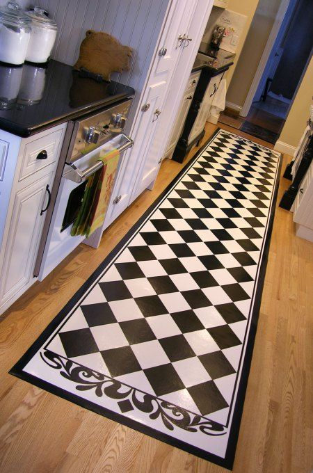 1000 Images About Painted Vinyl Floors On Pinterest