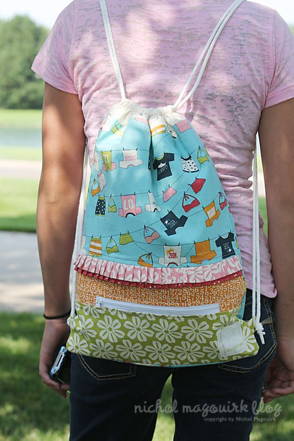 Drawstring Backpacks - Pretty for Girl, Cute for Boy