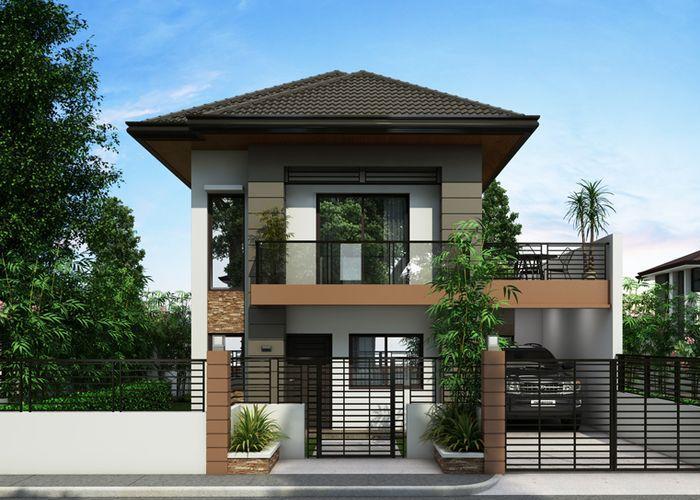 30 Model Rumah Minimalis 2 Lantai Pilihan Terbaik Terbaik 2019 Di 2020 House Blueprints Desain Rumah Rumah Minimalis
