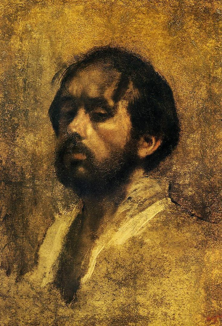Edgar Degas self portrait...impressionism  Loved his portraits.  Always seemed isolationist and quite complex.