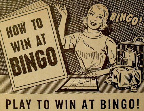 vintage Bingo memorabilia