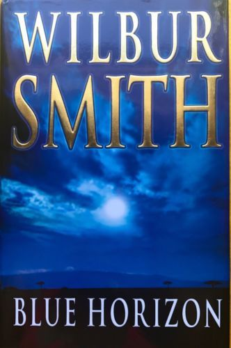 Blue-Horizon-by-Wilbur-Smith-excellent-condition-used-hardcover-with-dustjacket