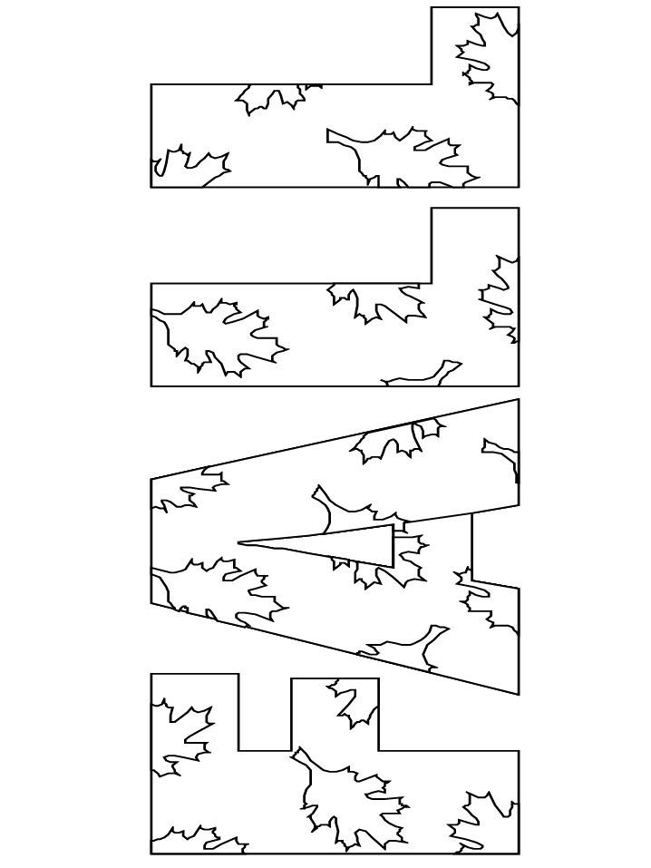Autumn Coloring Pages | fall coloring pages Nice pages and easily printed.