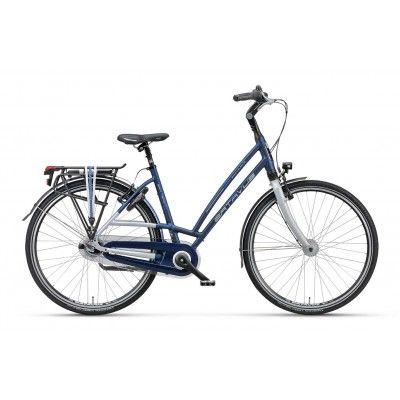 Rower Miejski Damski Batavus San Remo. Światowej klasy rower, o którym nie trzeba wiele mówić. Komfort jazdy na najwyższym możliwym poziomie. http://damelo.pl/damskie-rowery-miejskie-rekreacyjne/379-rower-miejski-damski-batavussan-remo.html
