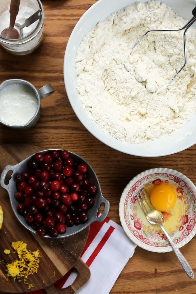 Cranberry Meyer Lemon Biscuits. I have meyer lemons AND cranberries in the fridge right now. this is so perfect!!
