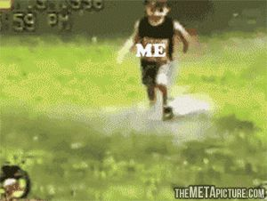 Possibly the most accurate gif on the internet. Hahahahahah