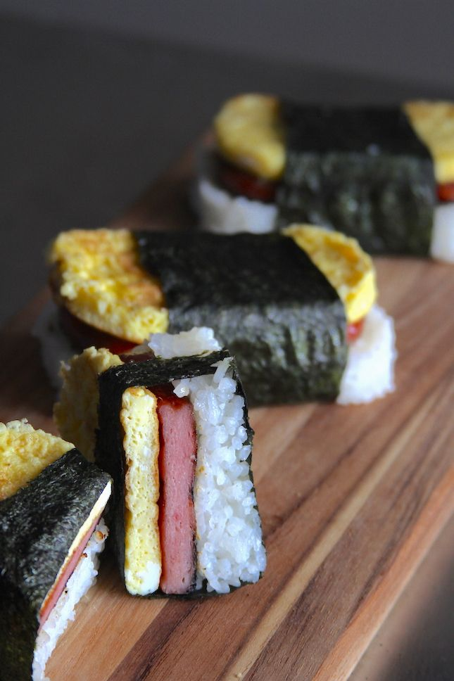 Recipes: Smoked Spam Musubi | All Things Barbecue - The Sauce.