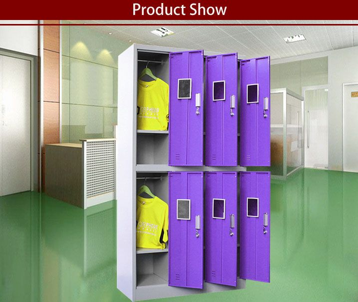 Per Cabinet With 6 Section ,could Be Used For 6 People One Time. Modern