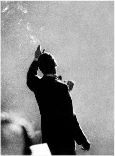 Frank Sinatra 1958-- Ol' blue eyes.