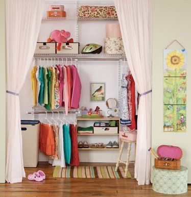Kitchen Design Luxury Homes 2012: Modernos closets para niños y jovenes