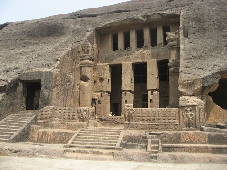 Kanheri caves at Sanjay Gandhi National Park in Mumbai, India.
