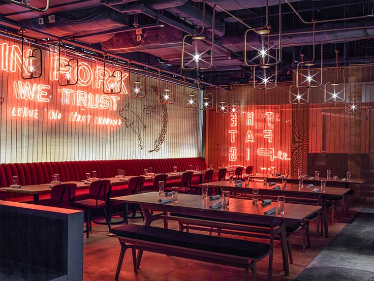 london-based architecture and design practice michaelis boyd has completed the design of 'the fat pig', a newly opened restaurant from chef tom aikens.