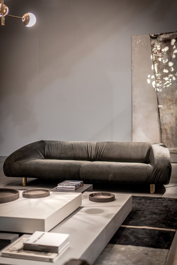 Etienne de souza designer and manufacturer of luxury cabinet - Materiality And Minimalist Aesthetic Baxter At Isaloni
