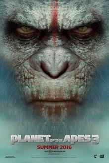 Maymunlar Cehennemi 3 afişi: filmi izlemek için aşağıdaki linki tıklayın: http://www.hdfullfilmizlesene.tv/maymunlar-cehennemi-3-savas-izle/